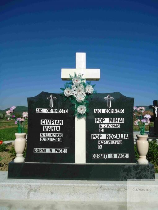 Cruce Granit Negru Model 1