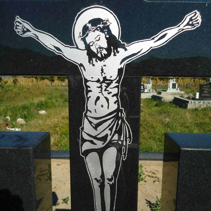 Cruce cu Rastignire Chip Isus