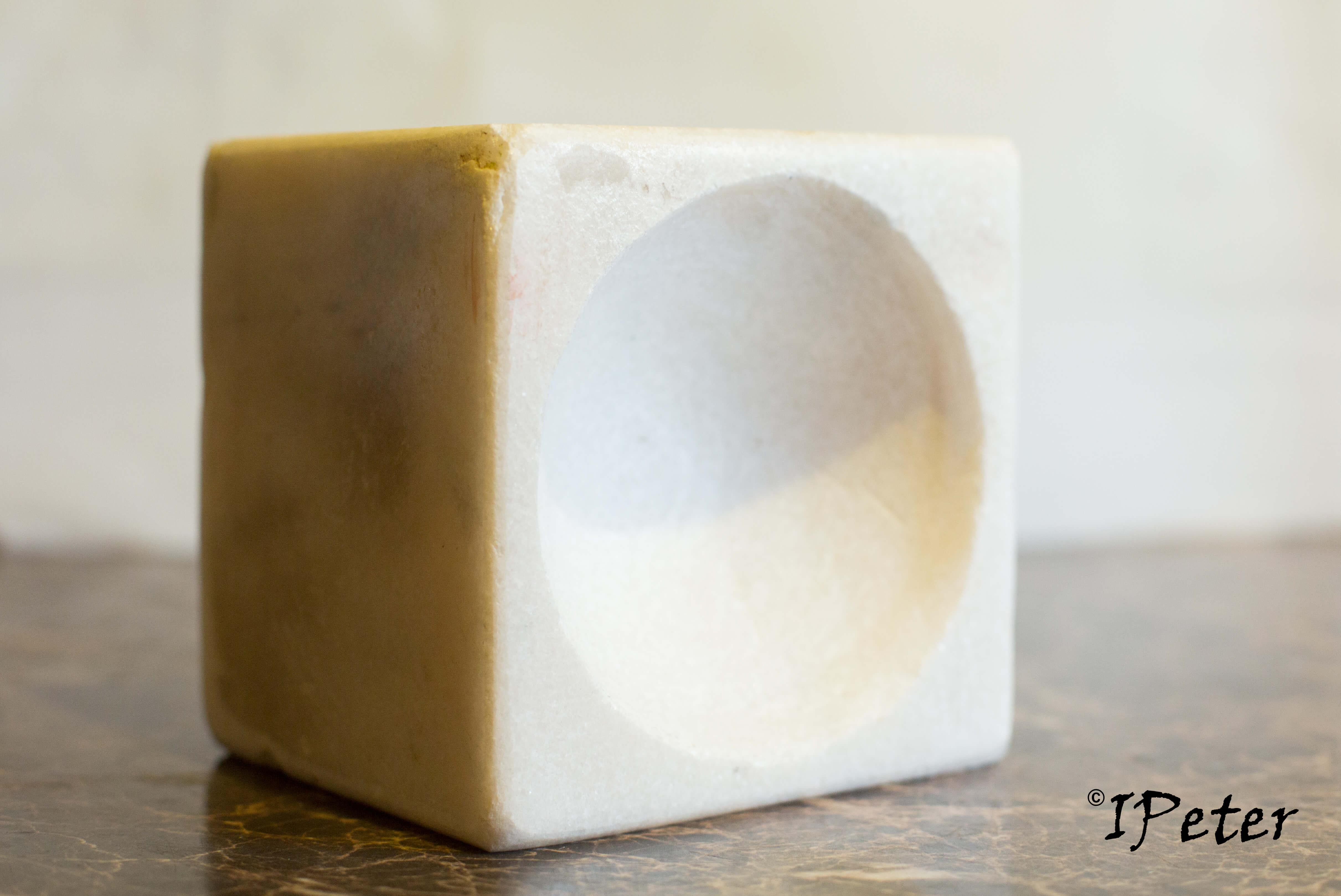 Mojar marmura cu pistil din granit negru Model 1.2 Facebook