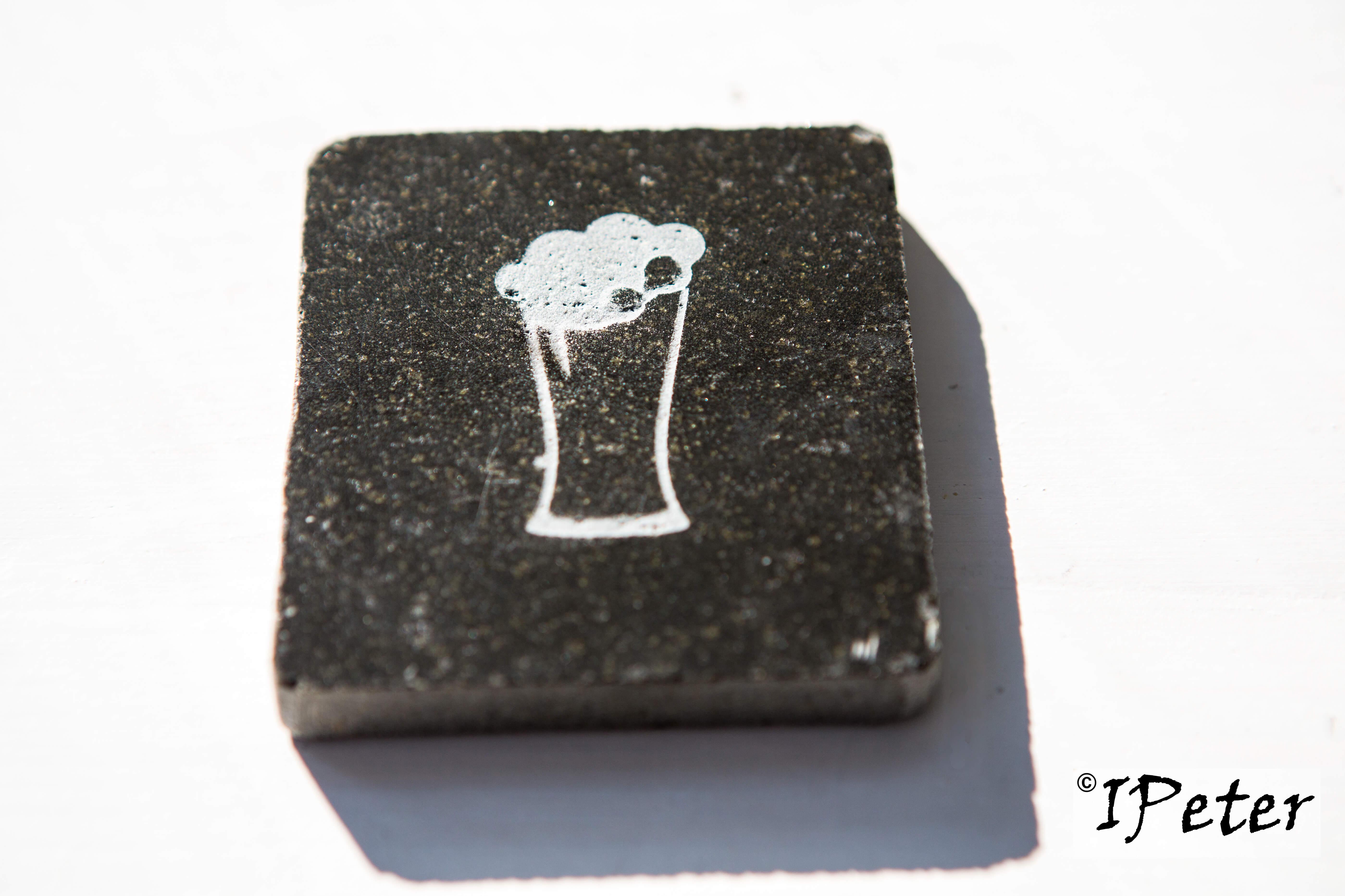 Suport pahar granit Model 2