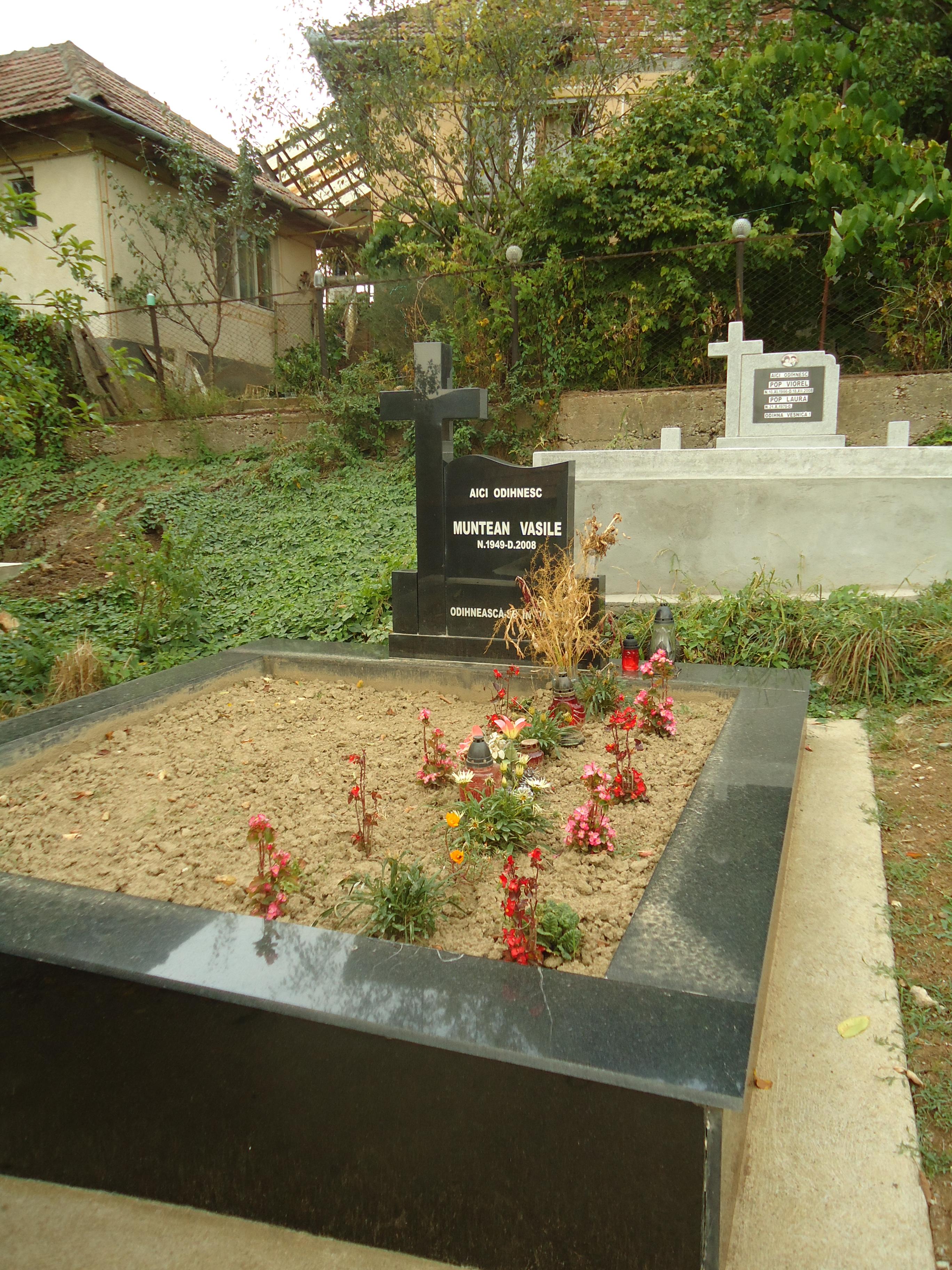 Placare Monument Granit Negru Model 2